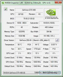NVIDIA Inspector软件截图
