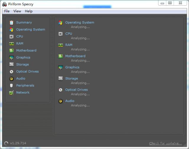 Piriform Speccy软件截图