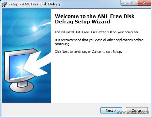 AML Free Disk Defrag软件截图