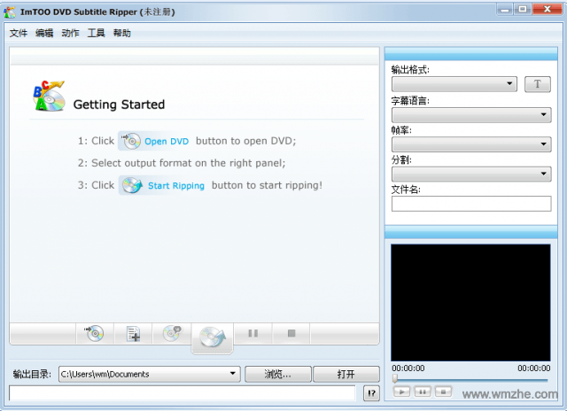 ImTOO DVD Subtitle Ripper软件截图