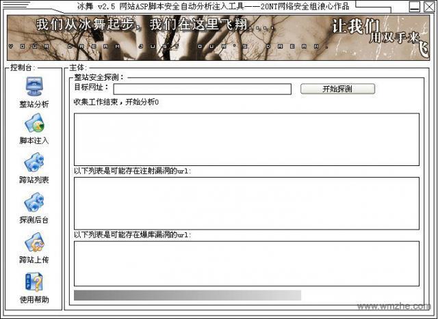 asp网站漏洞扫描工具软件截图