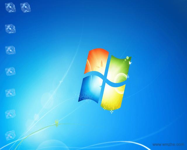 3D Flying Icons Screensaver 桌面图标的飞逝屏保软件截图