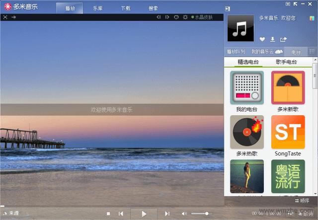 多米音乐软件截图