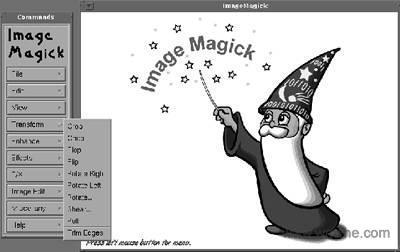 ImageMagick软件截图