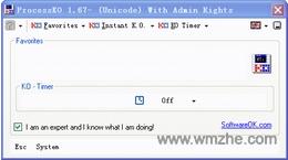 ProcessKO软件截图