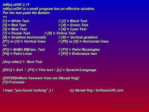 IsMyLcdOK 64位软件截图