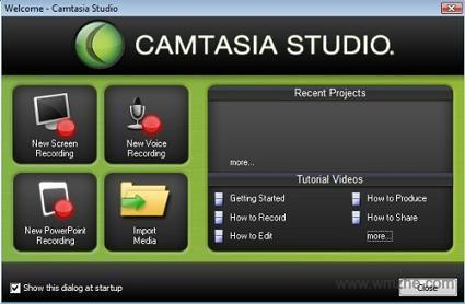 Techsmith Camtasia Studio软件截图