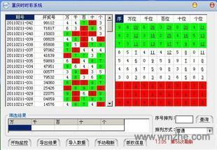 神迹时时彩分析系统软件截图