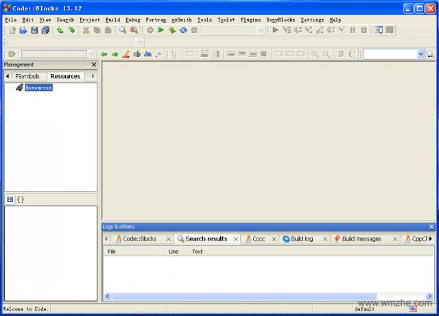 codeblocks软件截图