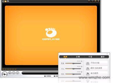 GOM Player播放器软件截图