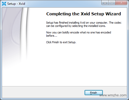 Xvid Video Codec软件截图