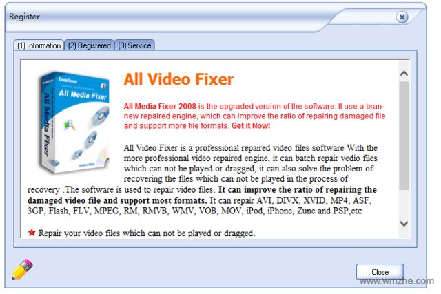 All Video Fixer软件截图