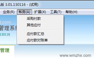 維克采購管理系統軟件截圖
