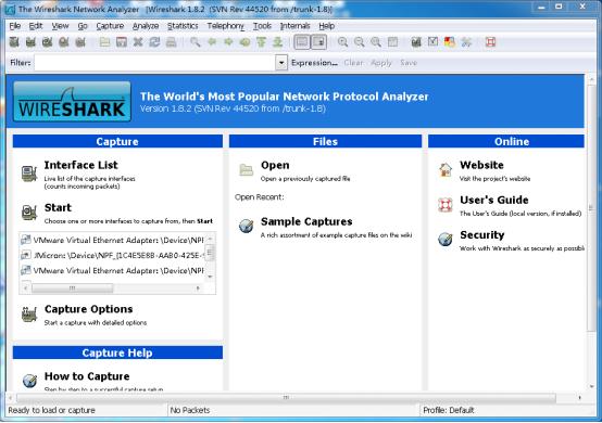 wireshark抓包方法整理分享,适合初学者