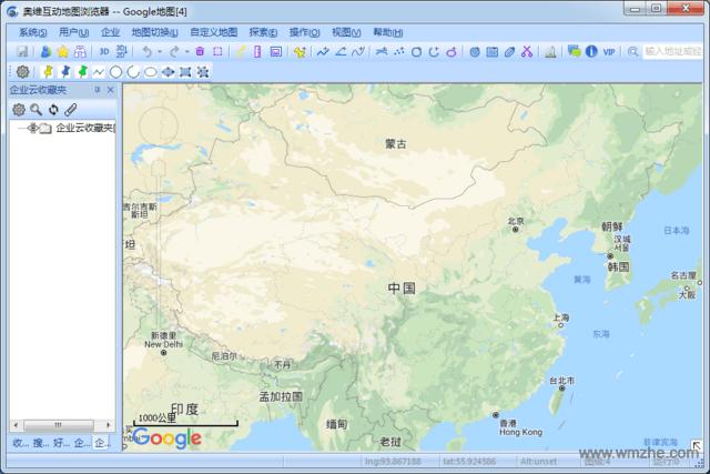 奥维互动地图浏览器软件截图