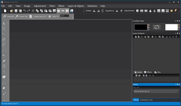 Photo Pos Pro软件截图
