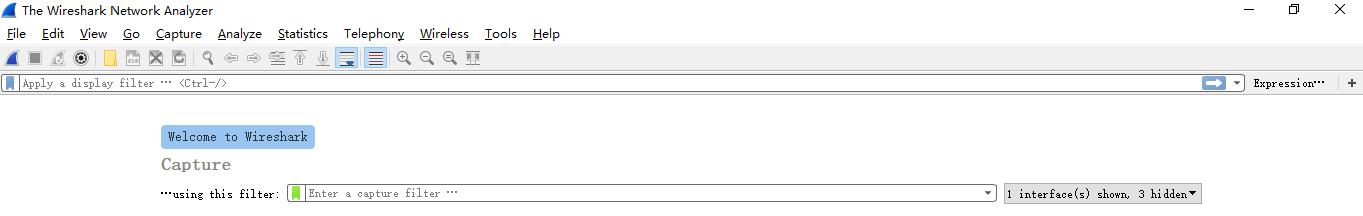 Wireshark抓包方法说明,捕获指定类型的数据包