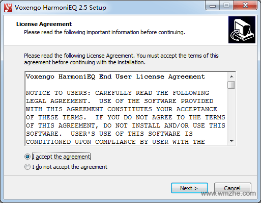 Voxengo HarmoniEQ軟件截圖