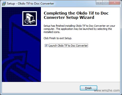 Okdo Tif to Doc Converter软件截图