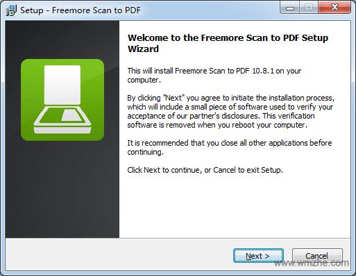 Freemore Scan to PDF软件截图