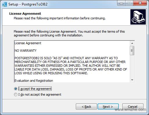 PostgresToDB2軟件截圖