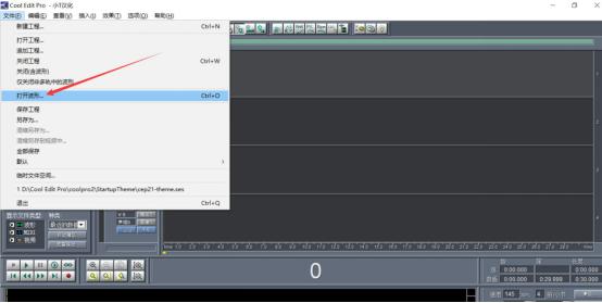 如何使用cool edit pro剪辑音乐?请看图文说明