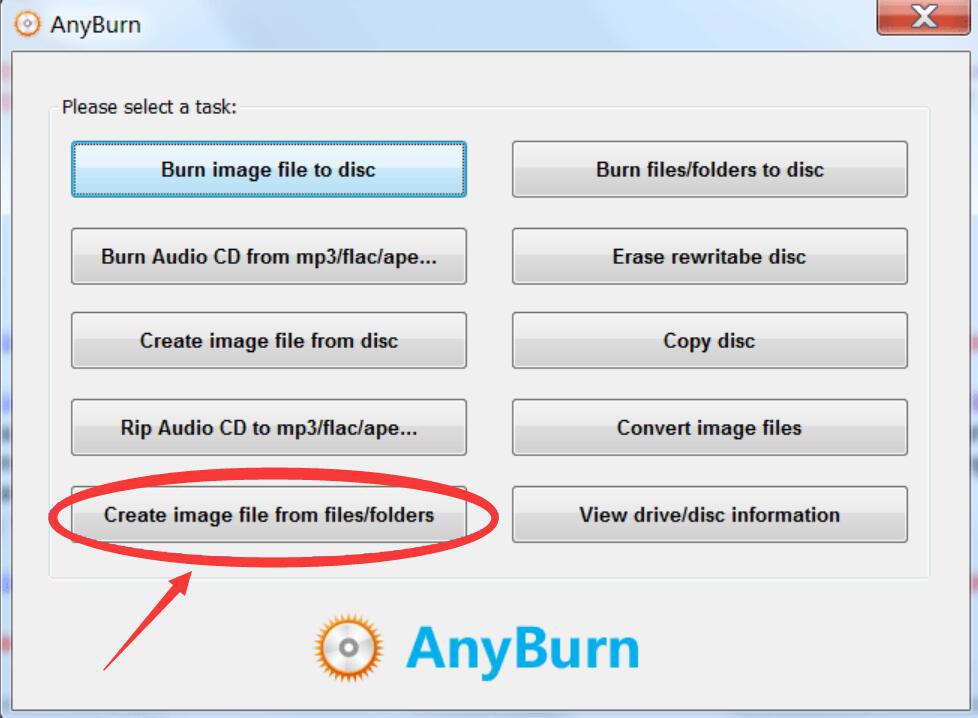 AnyBurn如何将文件制作成光盘镜像?光盘镜像制作方法说明