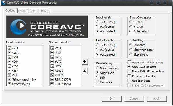 CoreAVC Video Professional Editio的教程