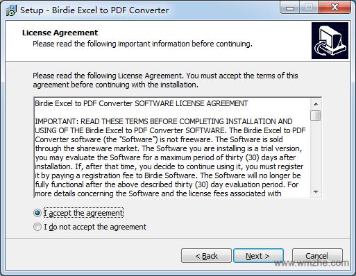 Birdie Excel to PDF Converter软件截图