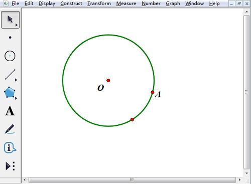 几何画板实操教学,过圆外一点作切线