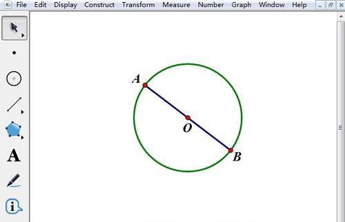 几何画板如何进行图形的奇数等分?几何画板圆奇数等分方法说明