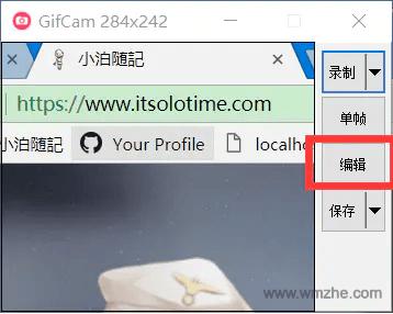 GifCam软件截图