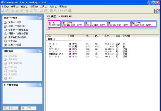 PowerQuest PartitionMagic如何实现硬盘分区?方法简单、易操作