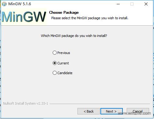 MinGW软件截图