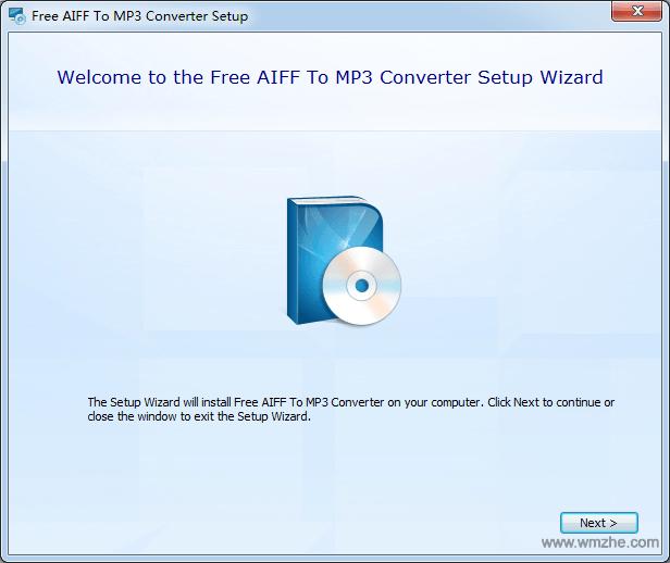 AIFF格式转换为MP3(Free AIFF To MP3 Converter)软件截图