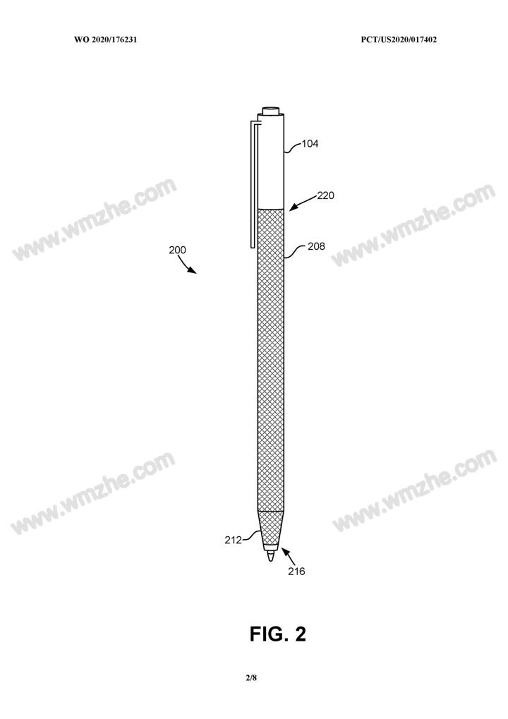微软正在设法用织物材质覆盖 Surface Pen 触笔表面