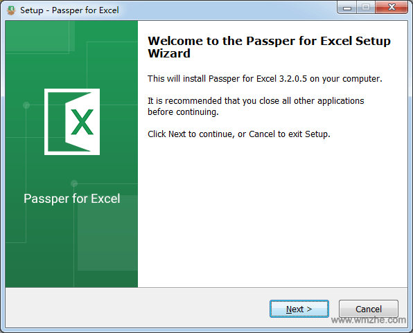 Passper for Excel软件截图