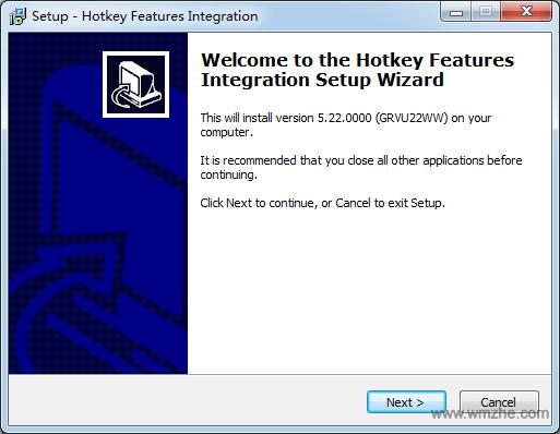 联想Thinkpad笔记本热键驱动程序软件截图