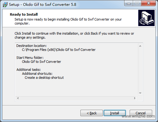 Okdo Gif to Swf Converter软件截图