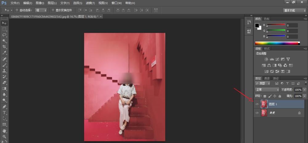 PS修图之将图片转换成素描风格,方法简单易学