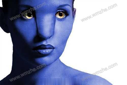 Photoshop设计快速制作阿凡达电影海报教程