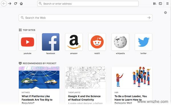 Firefox火狐浏览器 64位软件截图