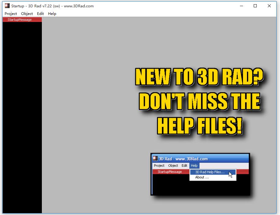 3DRad的教程