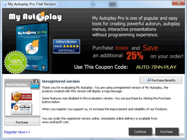 My Autoplay Pro软件截图