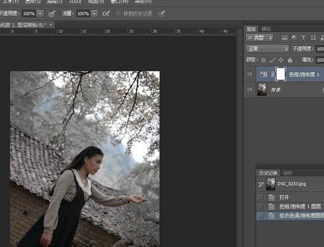 Photoshop雪景效果照片制作方法