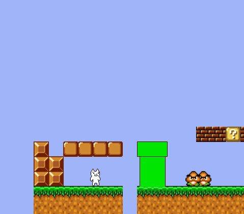变态猫版超级玛丽截图2