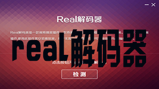 real解码器