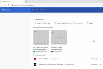 "Chrome Canary新增""记忆""功能可完整回顾浏览器使用记录"