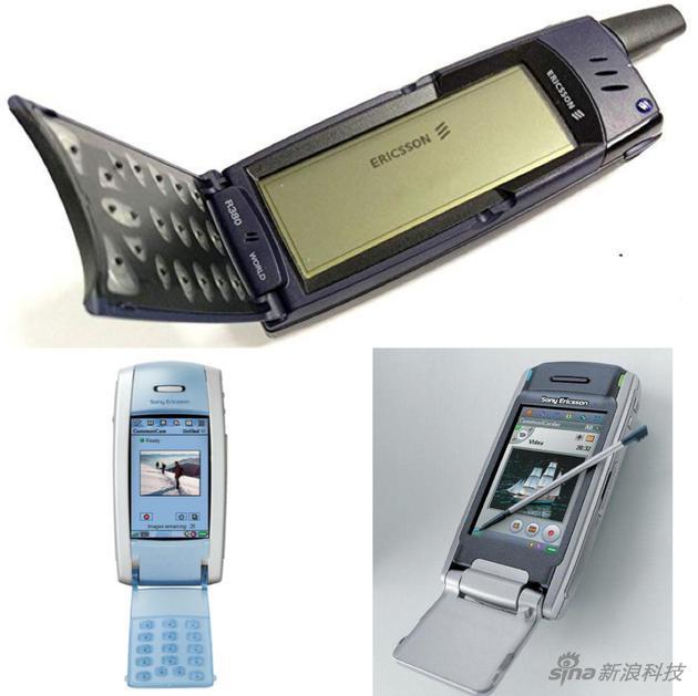 爱立信 R380 索尼爱立信 P800 索尼爱立信 P900