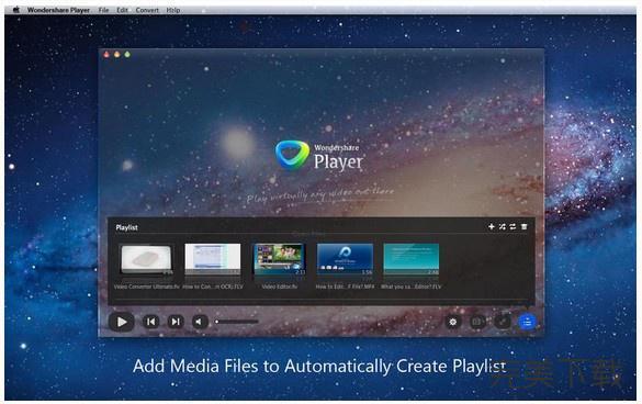 Wondershare Player Mac版播放器